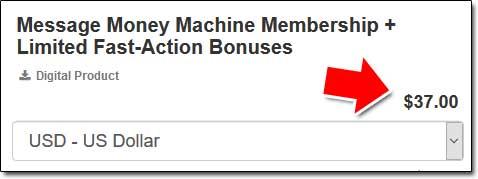 Message Money Machine Price