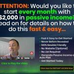 Passive Income Machines Website Screenshot