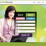 Quick Pay Survey Website Screenshot