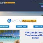 VSN Cash System Website Screenshot