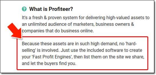 What Is Profiteer?
