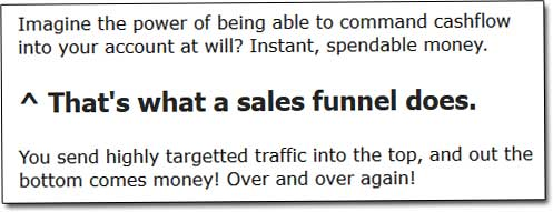 5K Formula Sales Funnel