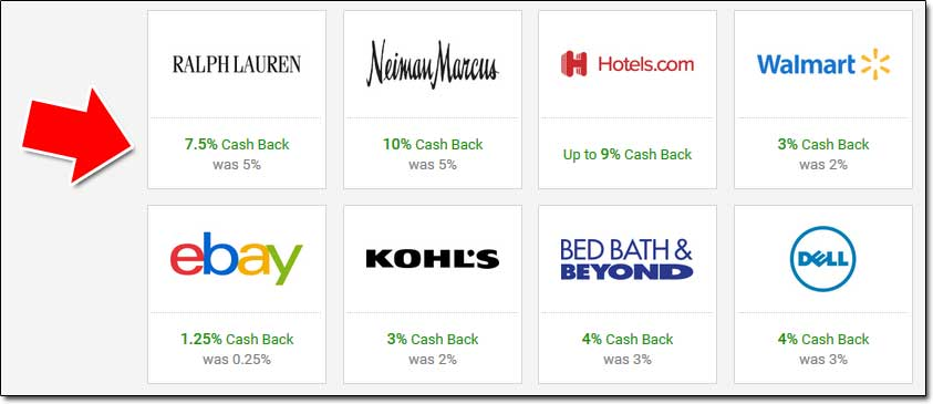 BeFrugal Retailers List