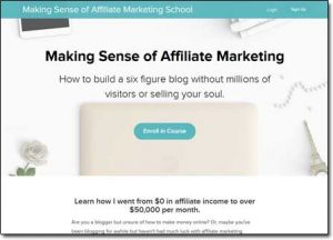 Making Sense of Affiliate Marketing Website Screenshot