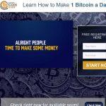 One Bitcoin A Day Website Screenshot