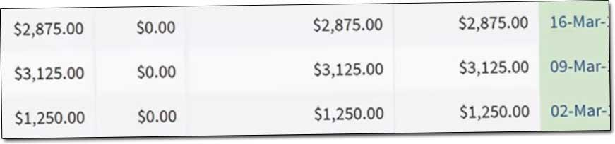 Profit 24/7 Income Proof Screenshot