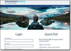 Springboard America Website Screenshot