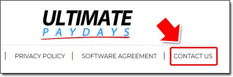 Ultimate PayDays Contact
