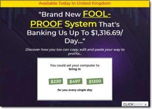Ultimate Paydays System Website Screenshot