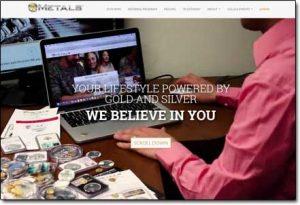 7K Metals Website Screenshot
