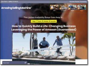 Amazing Selling Machine Website Screenshot
