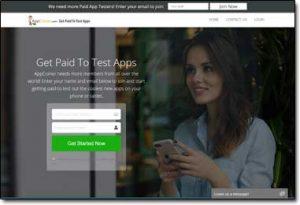 App Coiner Website Screenshot