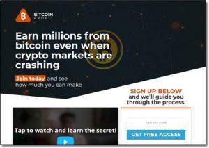 Bitcoin Profit Homepage