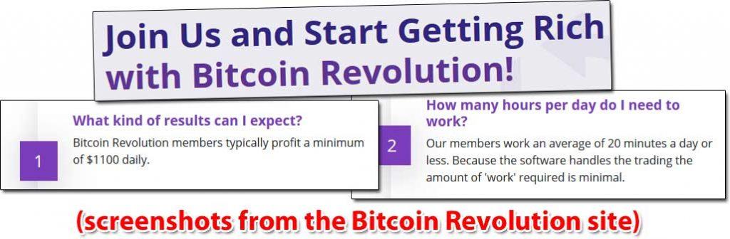 Bitcoin Revolution Income Claims
