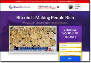 Bitcoin Revolution System Website Screenshot