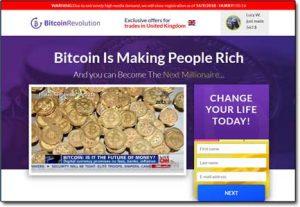 Bitcoin Revolution System Website Screenshot