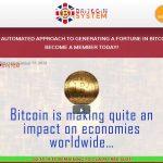 The Britcoin System Website Screenshot