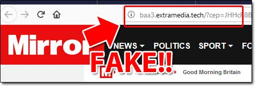 Fake News Site Exposed