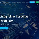 FinTech Mining Website Screenshot