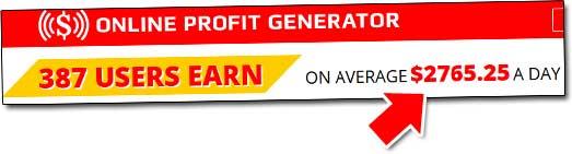 Online Profit Generator Income Claim