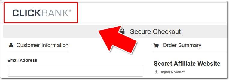 Secret Affiliate Website ClickBank