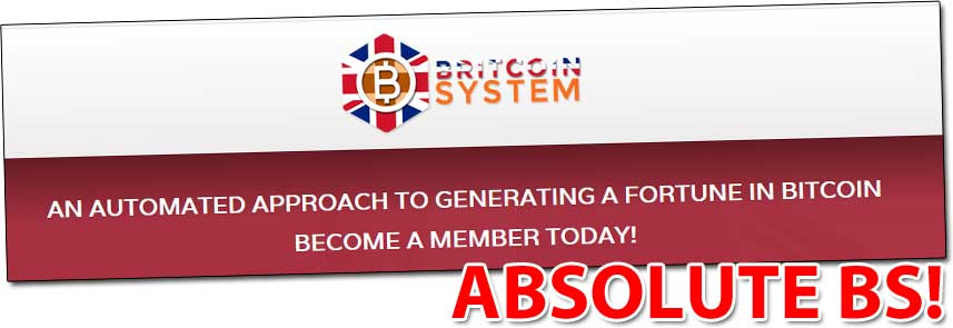 The Britcoin System Lies
