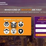 Traders Education Website Screenshot