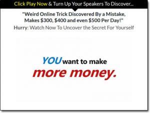 Cash At Home Bonanza System Website Screenshot