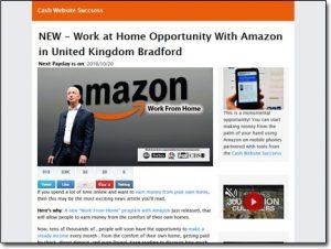 Cash Website Success System Website Screenshot