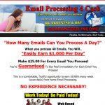 Email Processing 4 Cash Website Screenshot