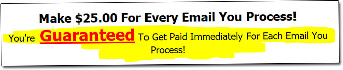 Email Processing 4 Cash Guarantee