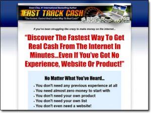 Fast Track Cash System Website Screenshot