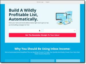 Inbox Income System Main Website