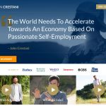 John Crestani Website Screenshot
