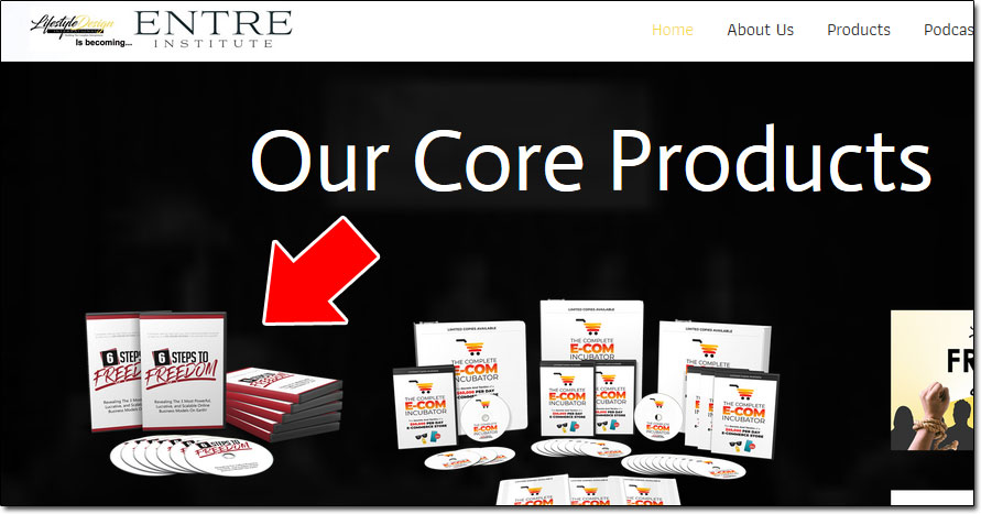 Lifestyle Design International Core Products