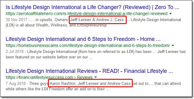 Lifestyle Design International Reviews