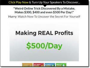 Real Profits Online Website Screenshot