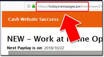 Todaysnewspages Website Screenshot