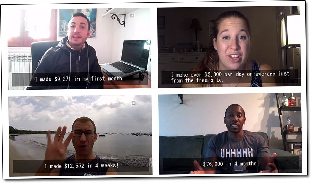Your New Work At Home Career Testimonials