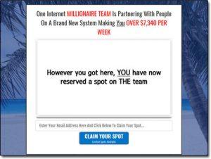 Your Profit Team Biz System Website Screenshot