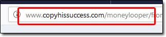 Copy His Success Website