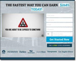 Daily Cash App Website Screenshot