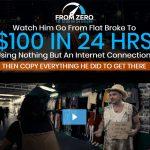 From Zero To $100 In 24 Hours Website Screenshot