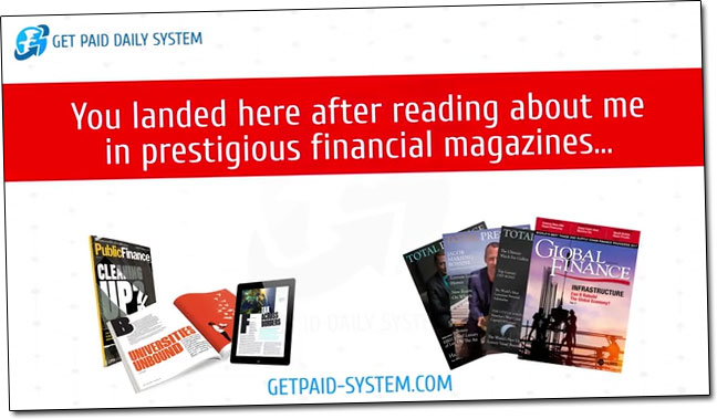 Justin Stevenson Financial Magazines