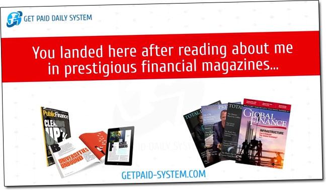 Justin Stevenson Financial Magazines
