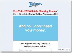Money Looper System Website Screenshot