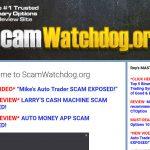 Scam Watchdog Website Screenshot