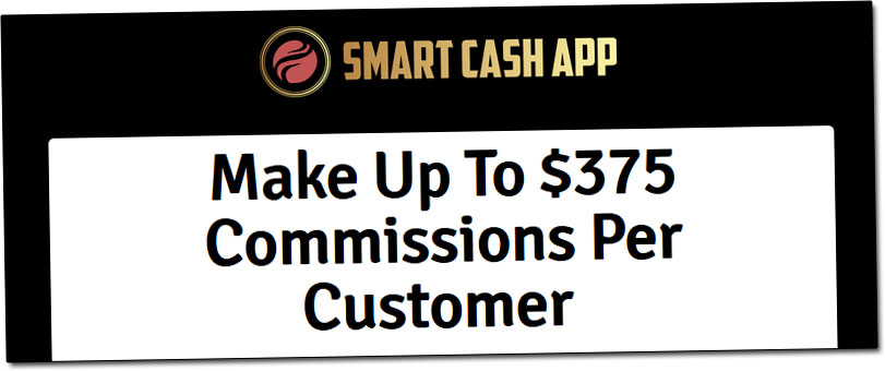 Smart Cash App Affiliate Page Commissions