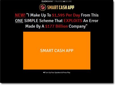 Smart Cash App Website Screenshot