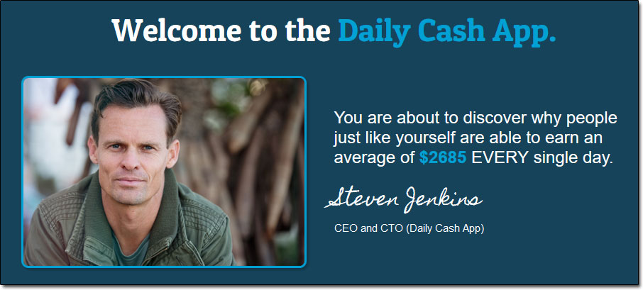 Steven Jenkins of the Daily Cash App